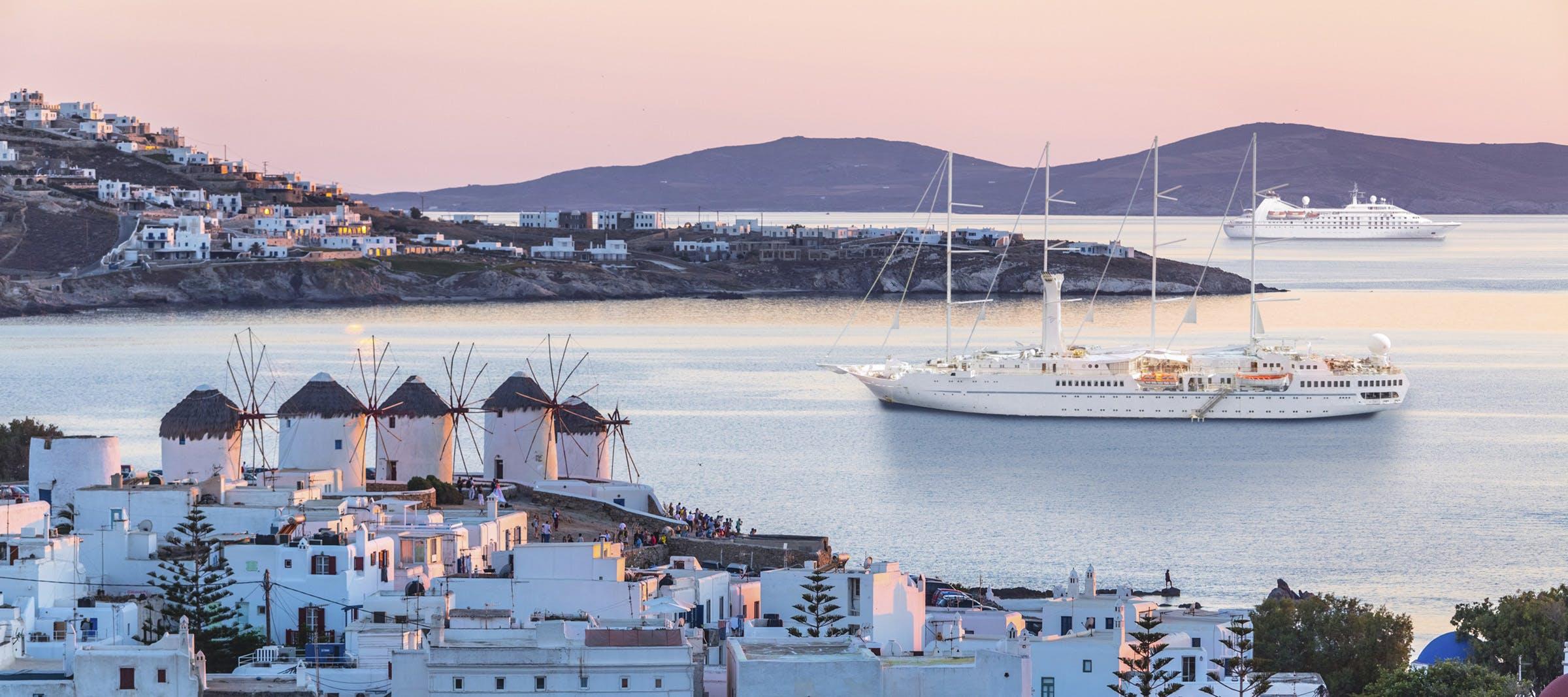 Windstar ships in Europe