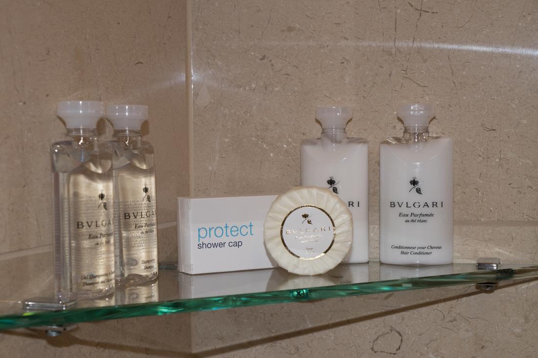 Bulgari bathroom products