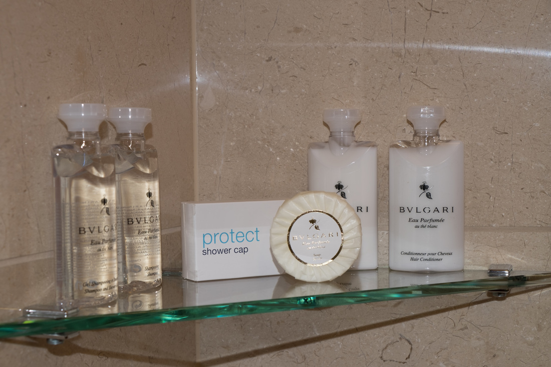 Bulgari bathroom products