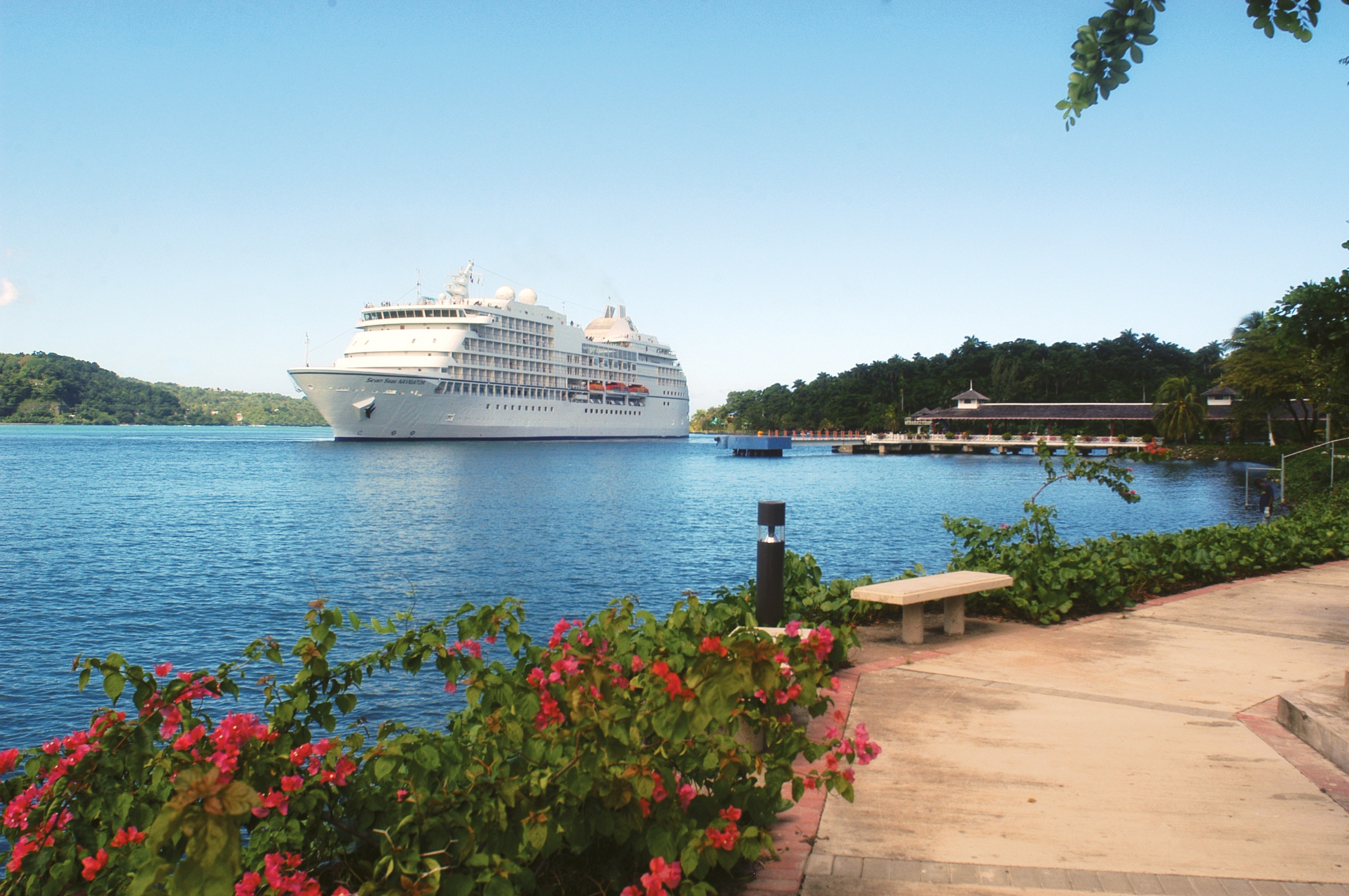 Regent Seven Seas Navigator in the Caribbean