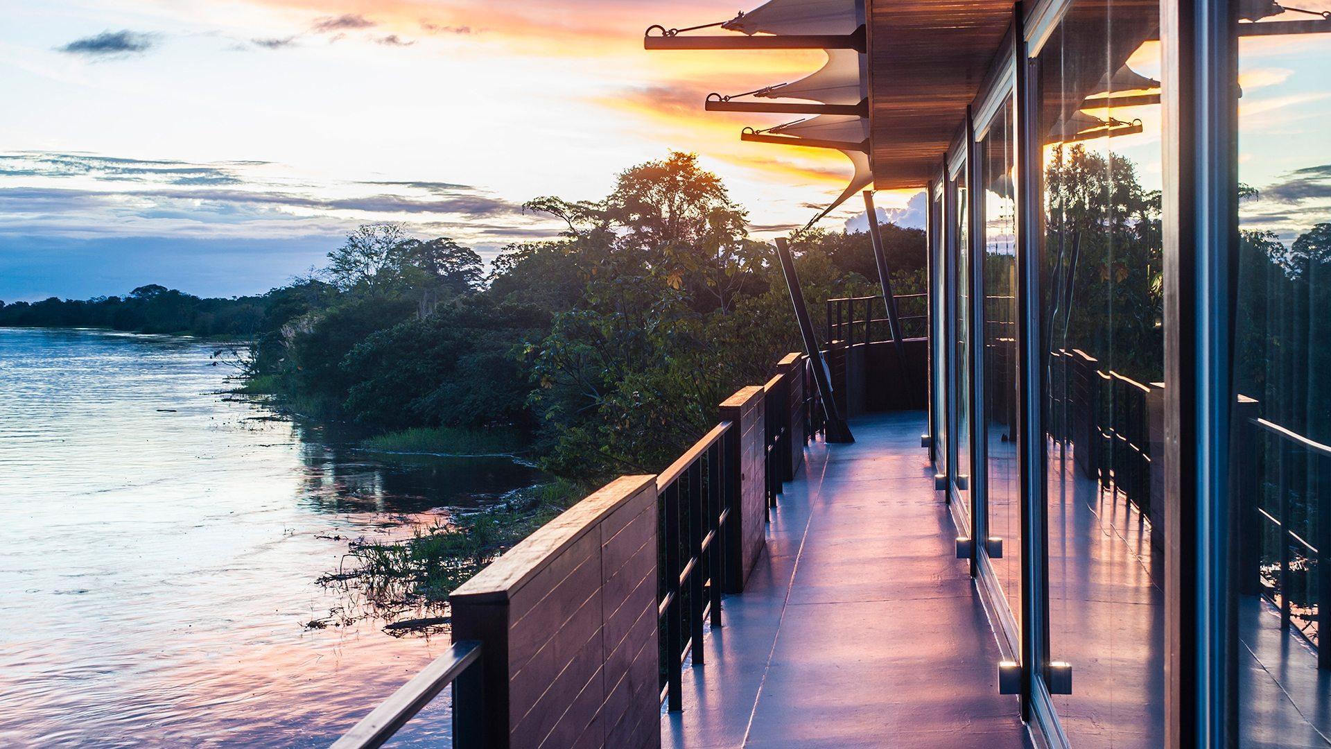 Observation Deck on Aqua Expeditions' Aqua Mekong