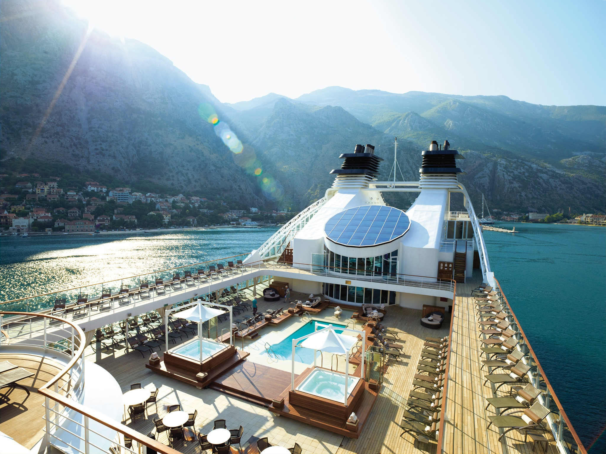 Seabourn Pool