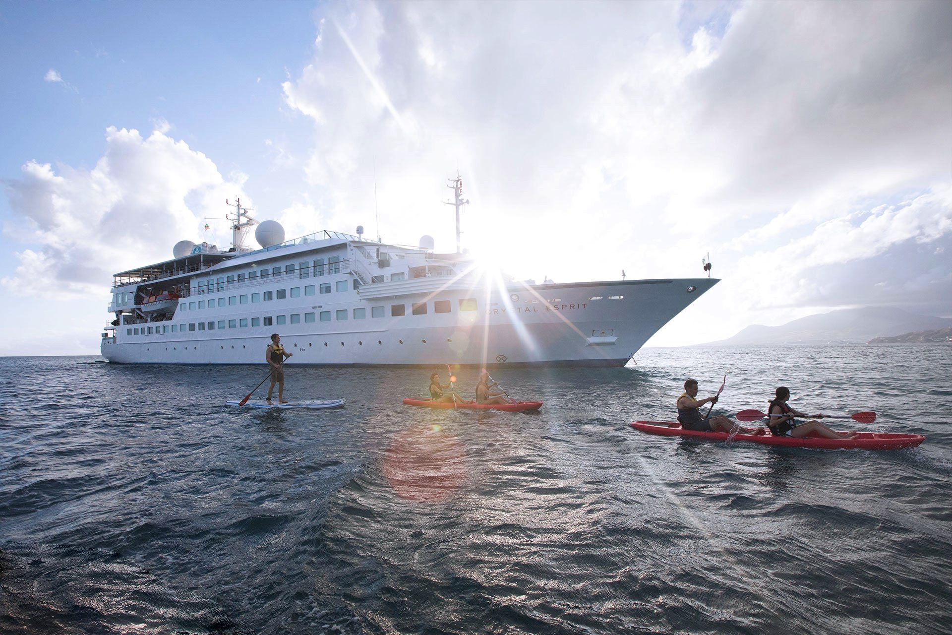 Crystal Esprit yacht cruise