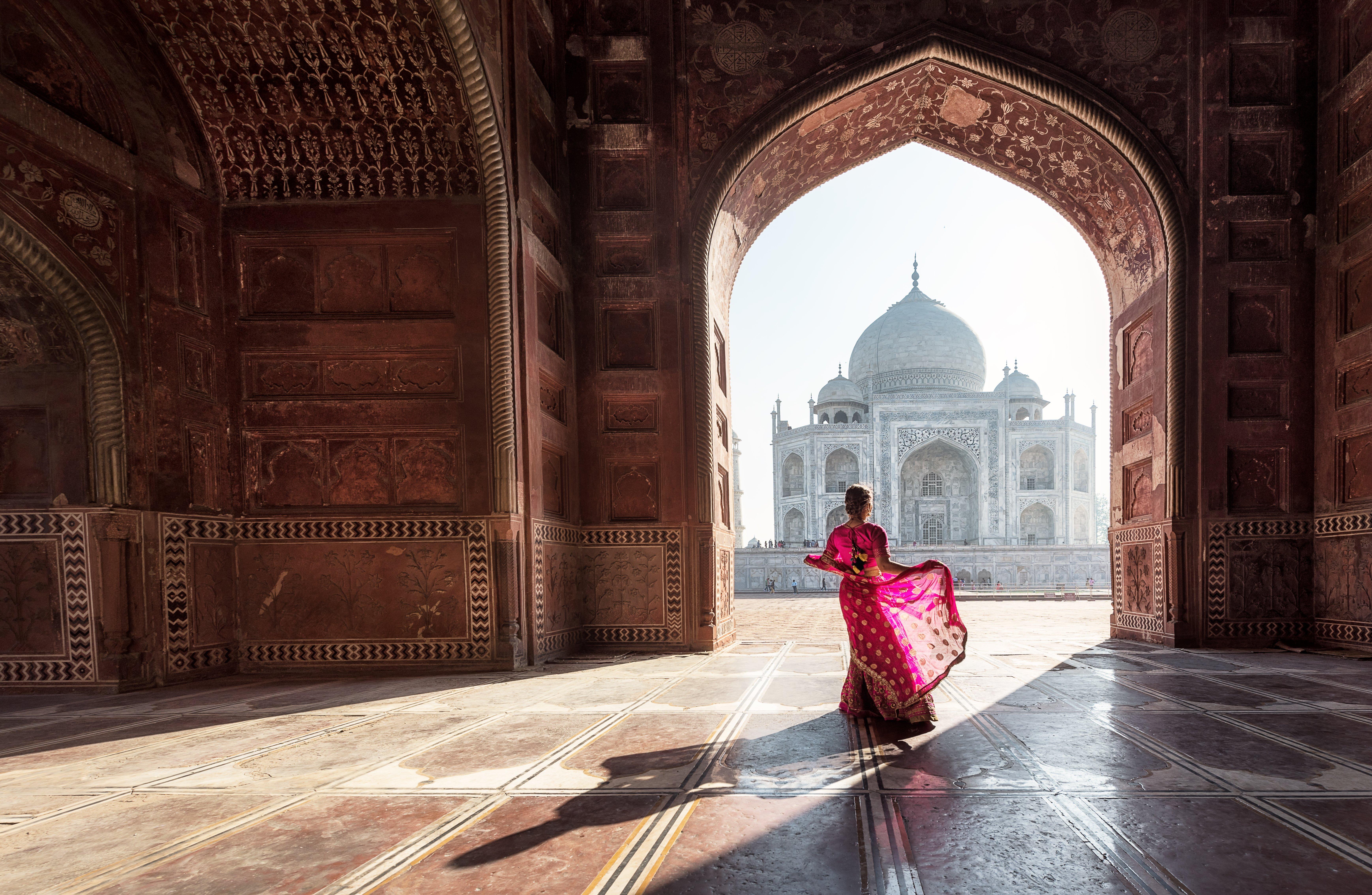 India's Taj Mahal in Agra