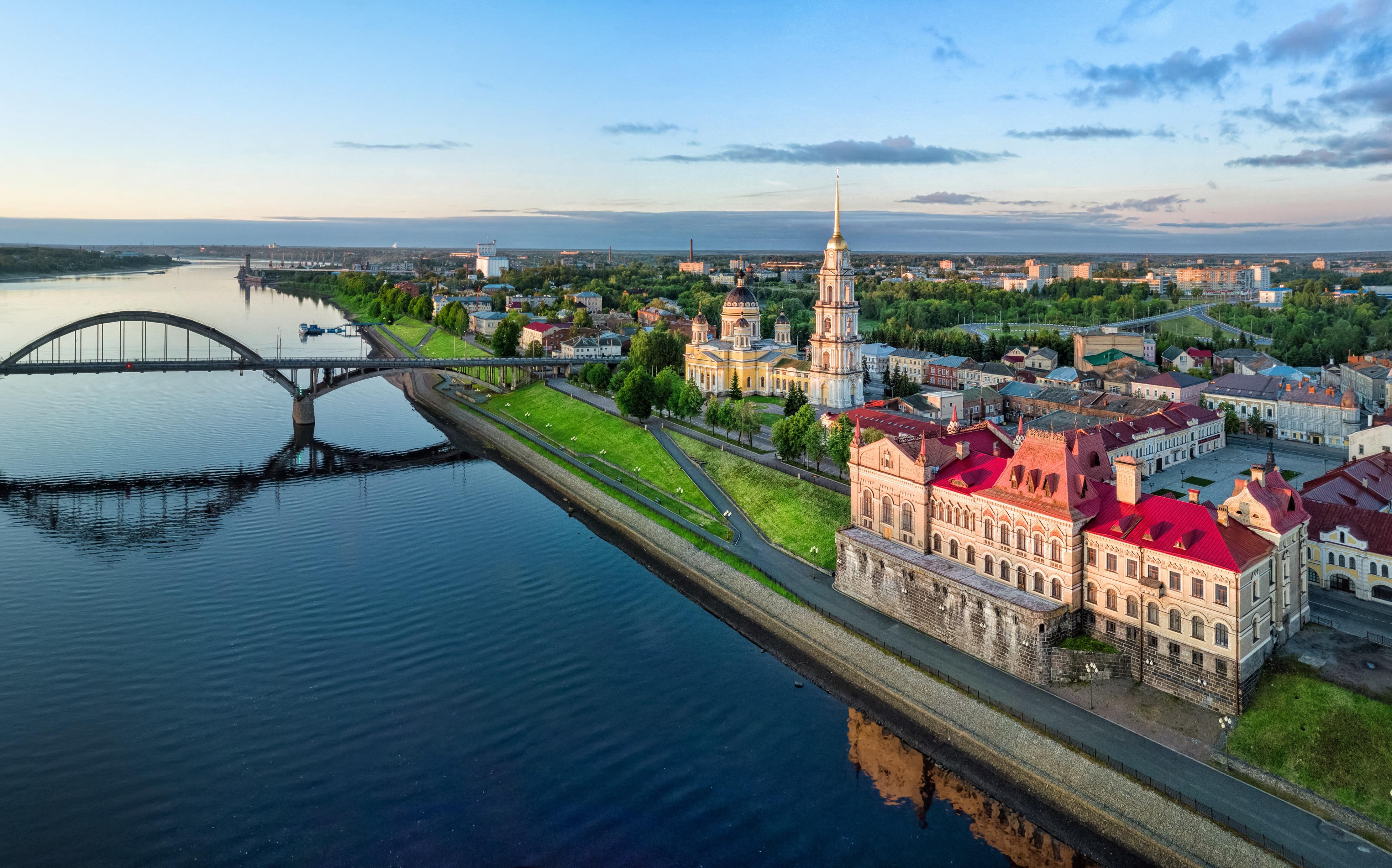 Russia's iconic Volga River