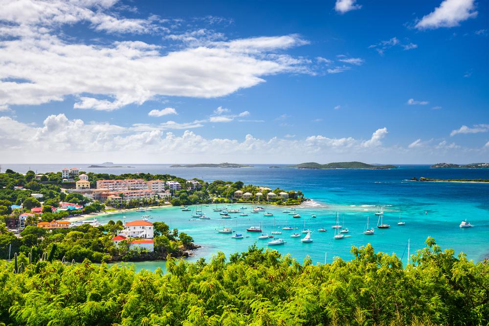 Cruz Bay, St John, United States Virgin Islands.-3