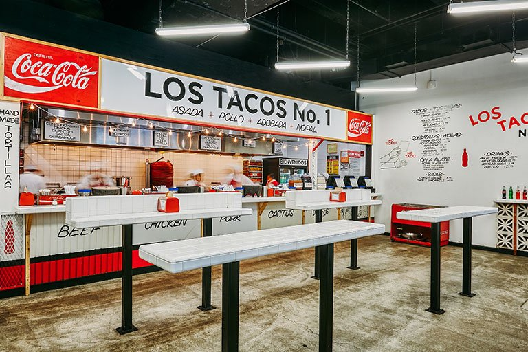 Los Tacos, New York