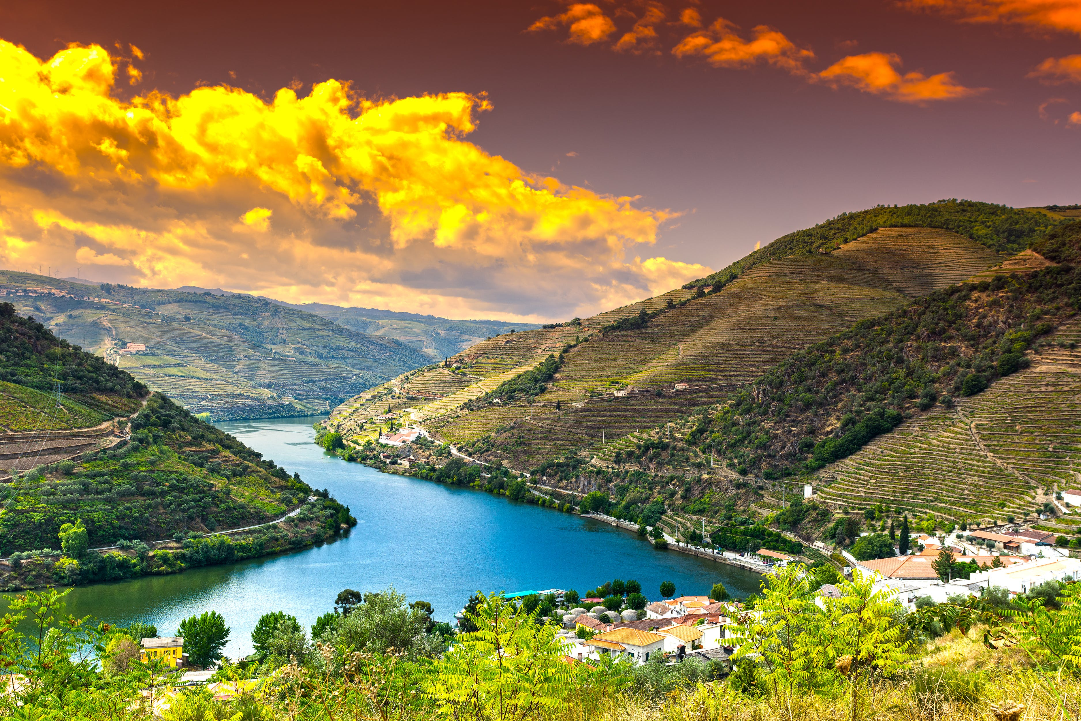 Portugal's Douro River winds through an epic landscape