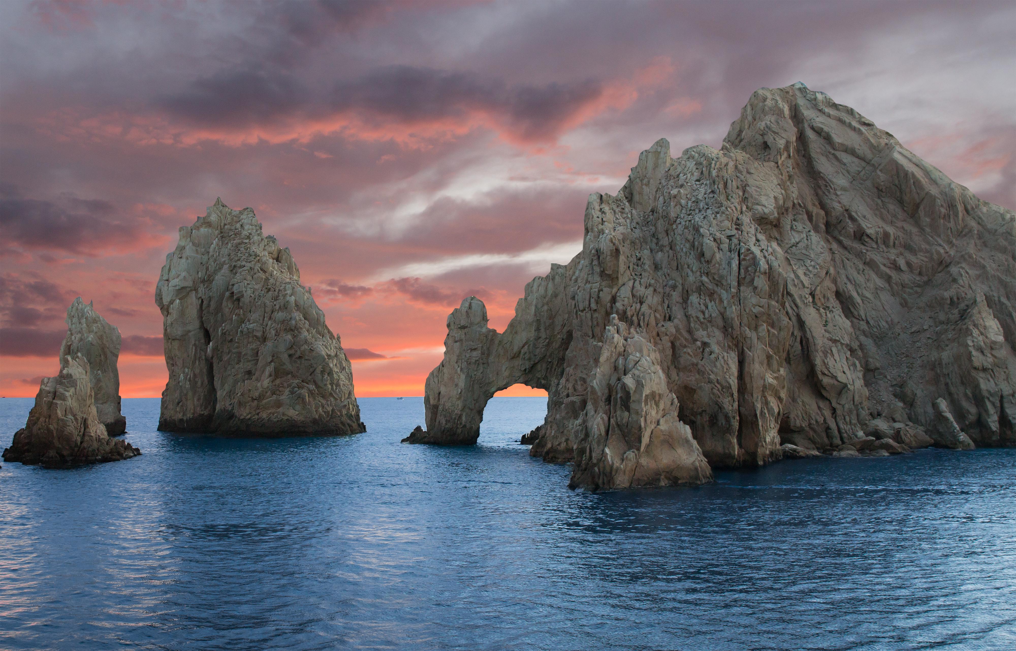 The Rock Formation of Land's End, Baja California Sur, Mexico, near Cabo San Lucas