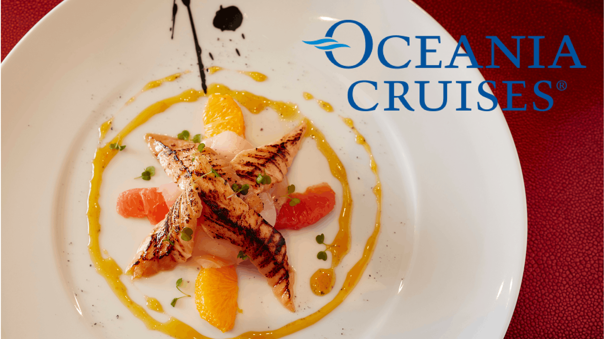 Oceania's Chefs are simply the best at sea, performing feats of gastronomic wizardry nightly.