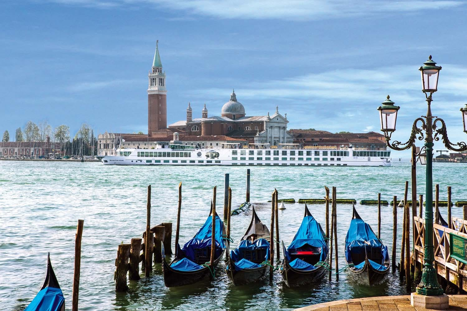Uniworld River Countess in Venice Italy