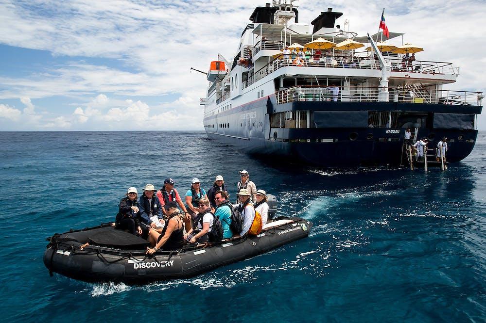 Silversea Silver Discoverer Zodiac boat