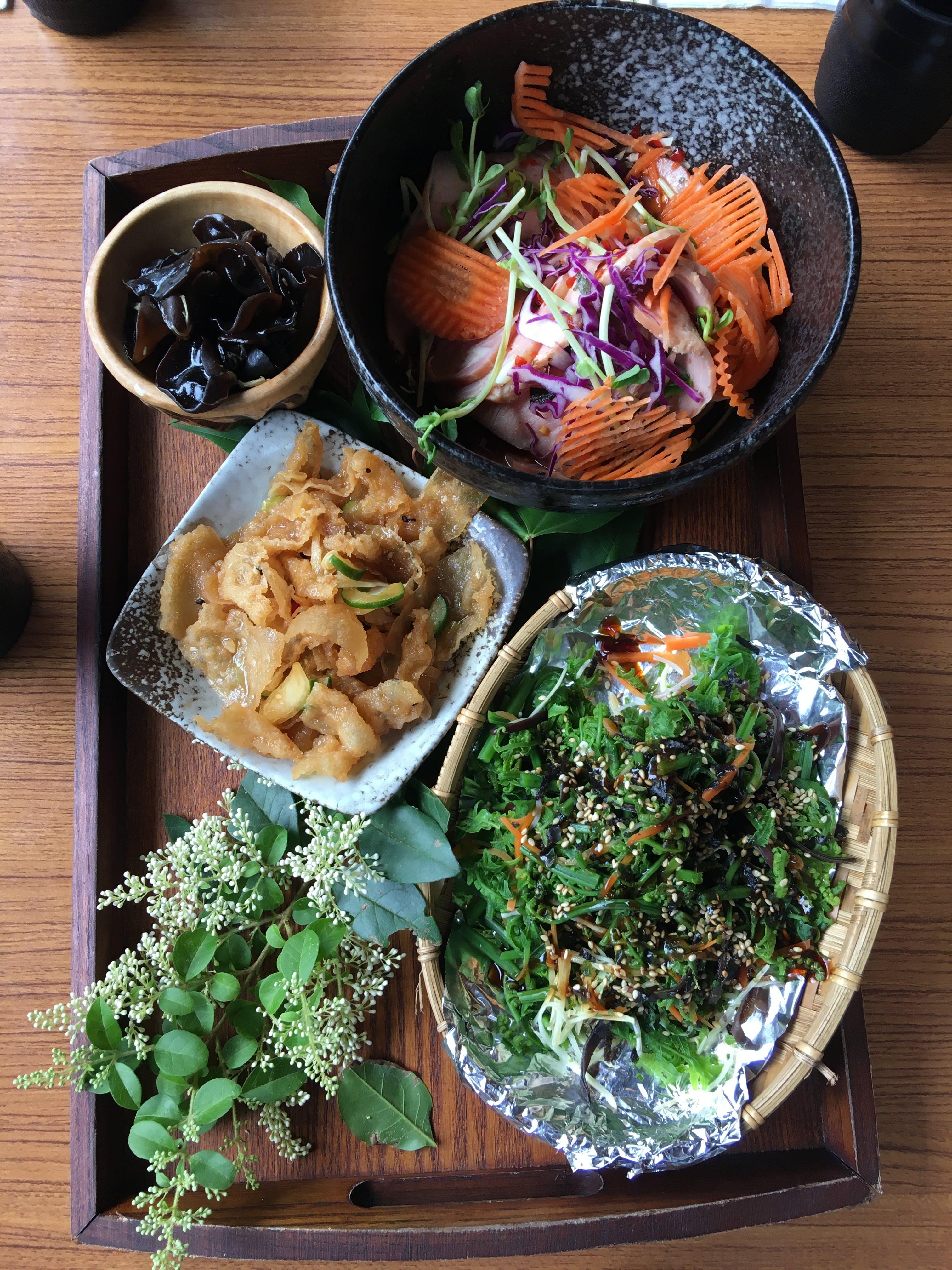 Asian inspired menu on Silversea