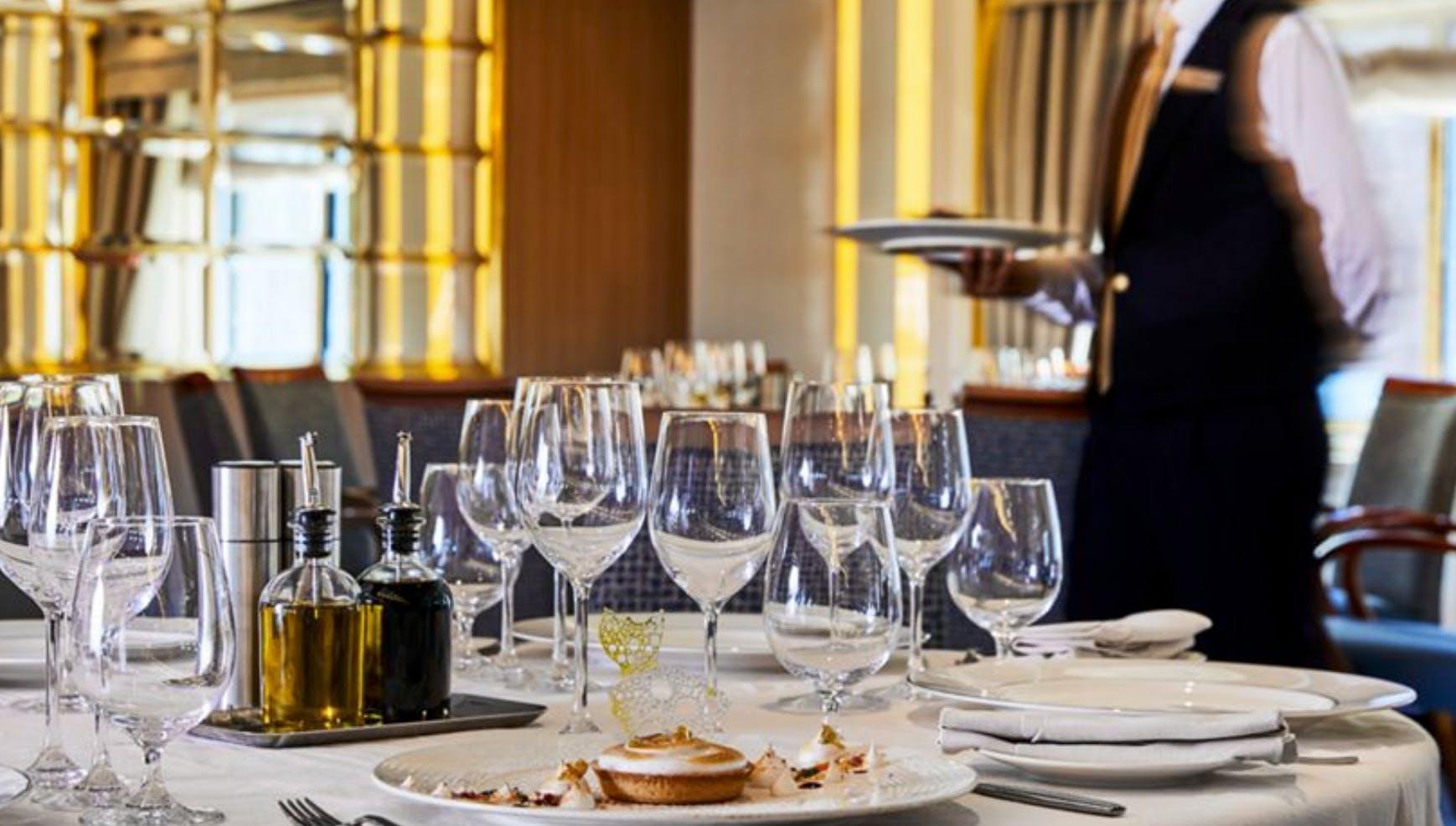 Silversea's La Terrazza Italian restaurant