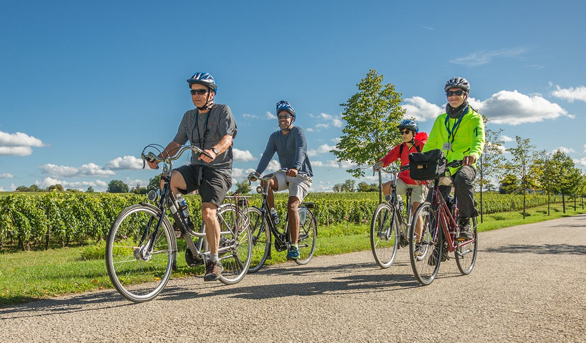 AmaMagna includes free bike excursions