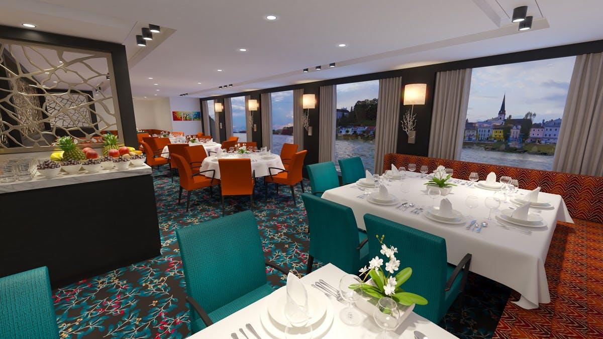 AmaMagna dining room