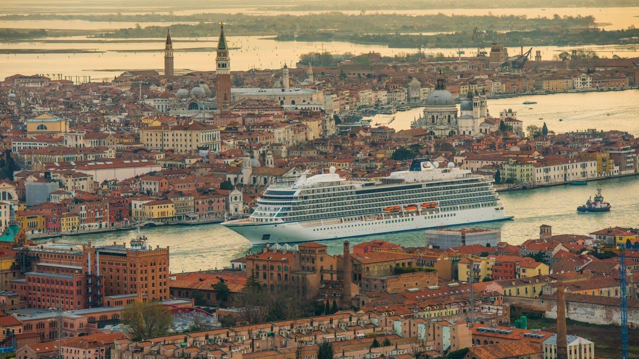 Viking Ocean in Venice, Italy