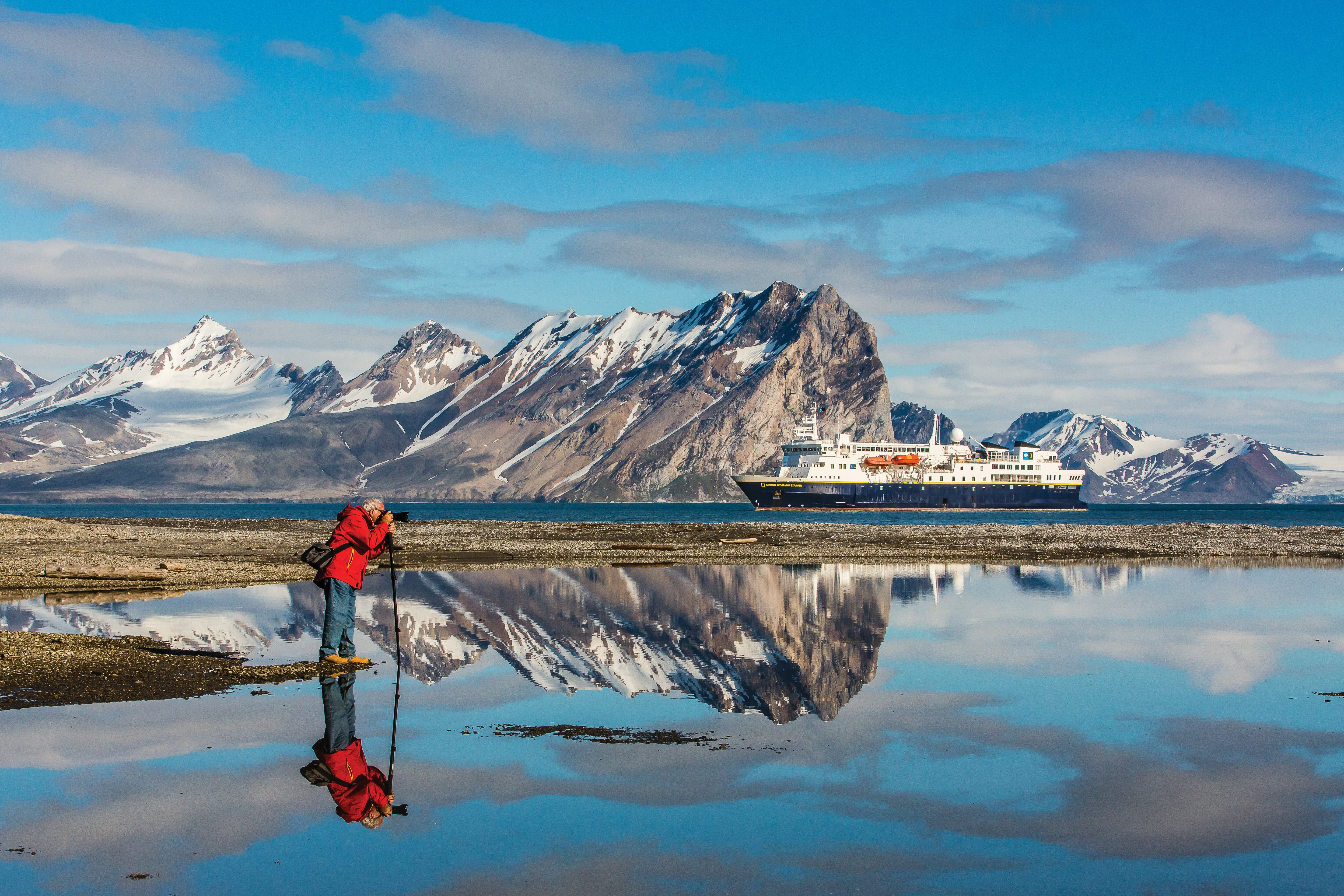 Lindblad makes photographing the Last Frontier easy and educational.