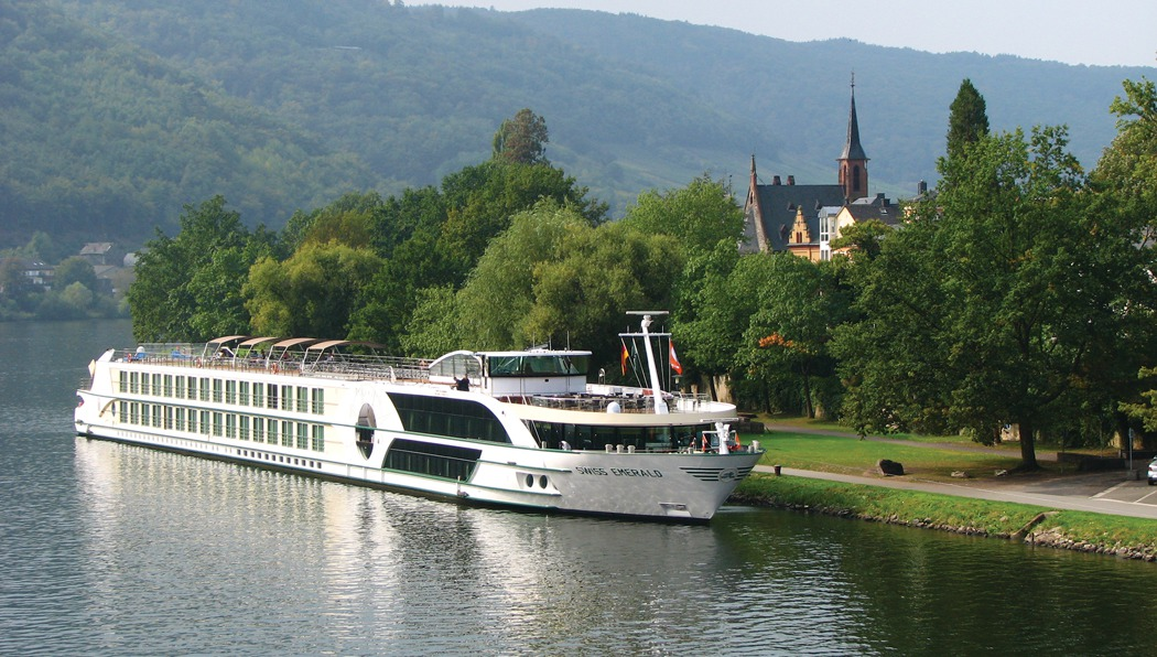Tauck river cruising aboard the Swiss Emerald