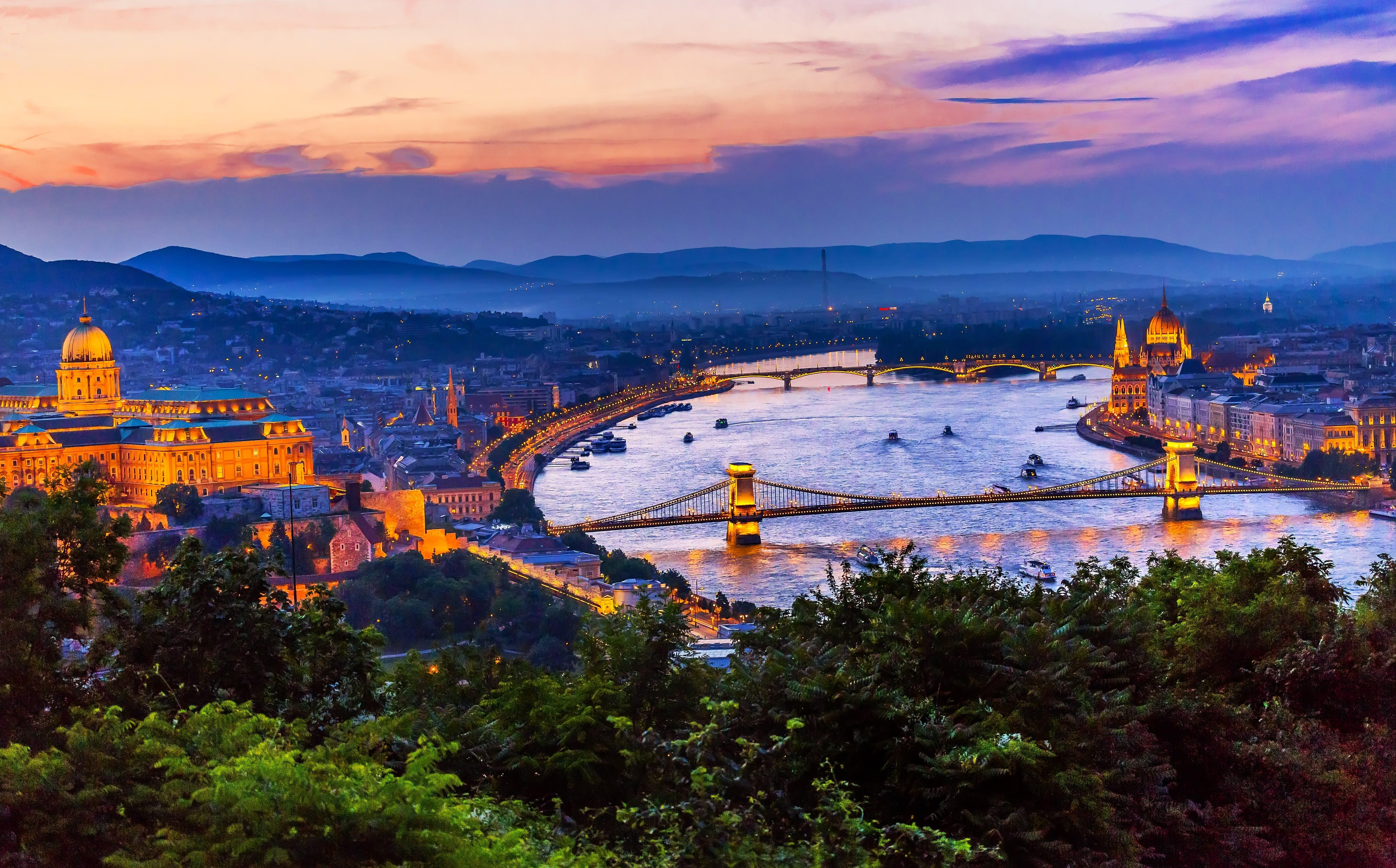 Budapest, Hungary along the Danube