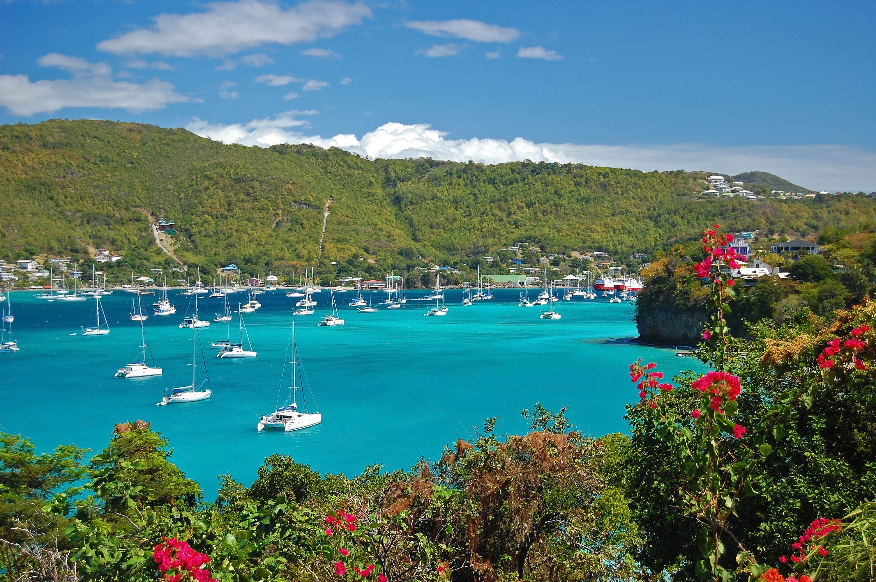 Admiralty Bay on Bequia Island