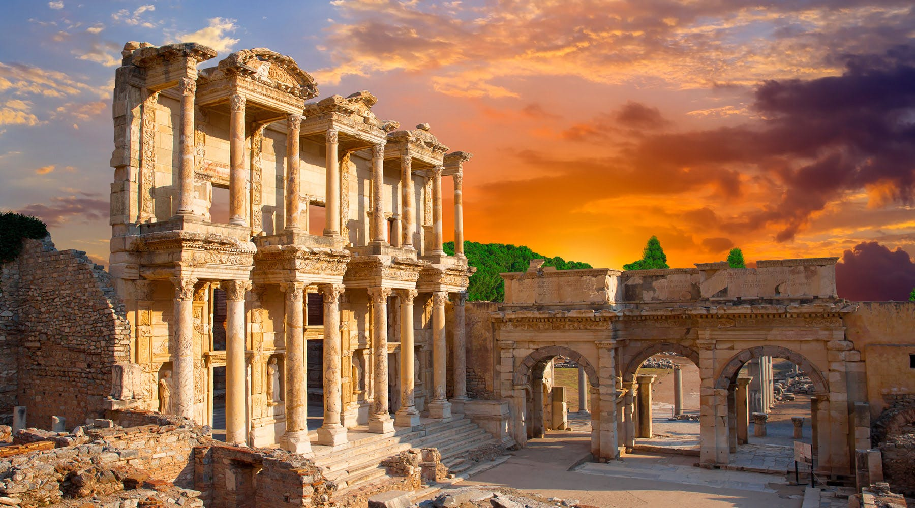 Azamara in Ephesus