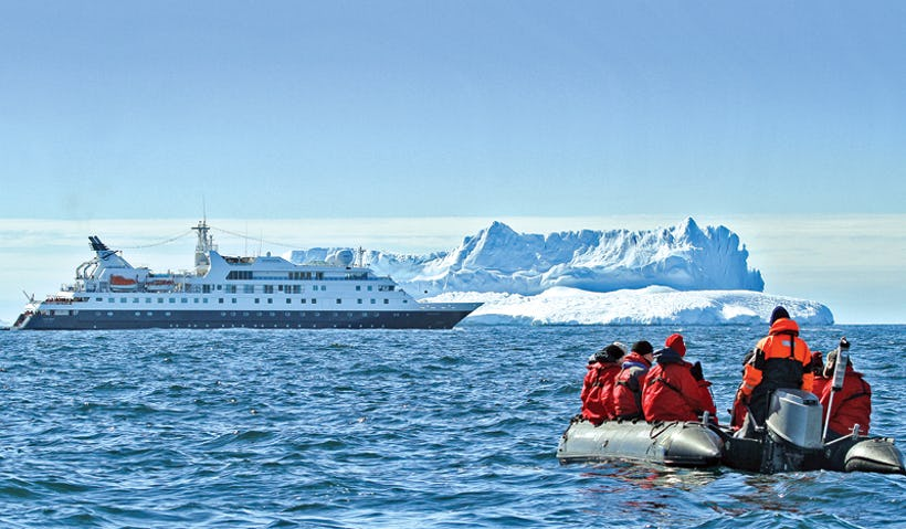 Lindblad Expeditions National Geographic Zodiac boats