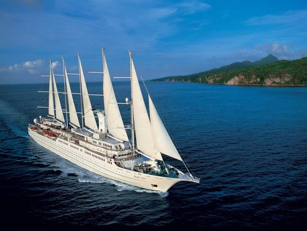 "A cruise with Windstar is ""180° From Ordinary."""