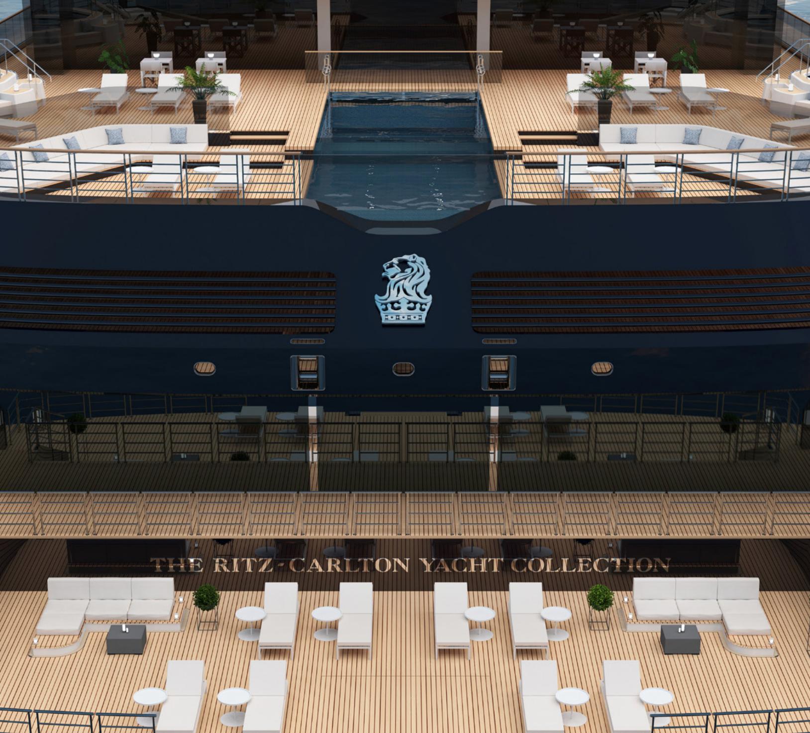 Ritz Carlton Yacht watersports platform