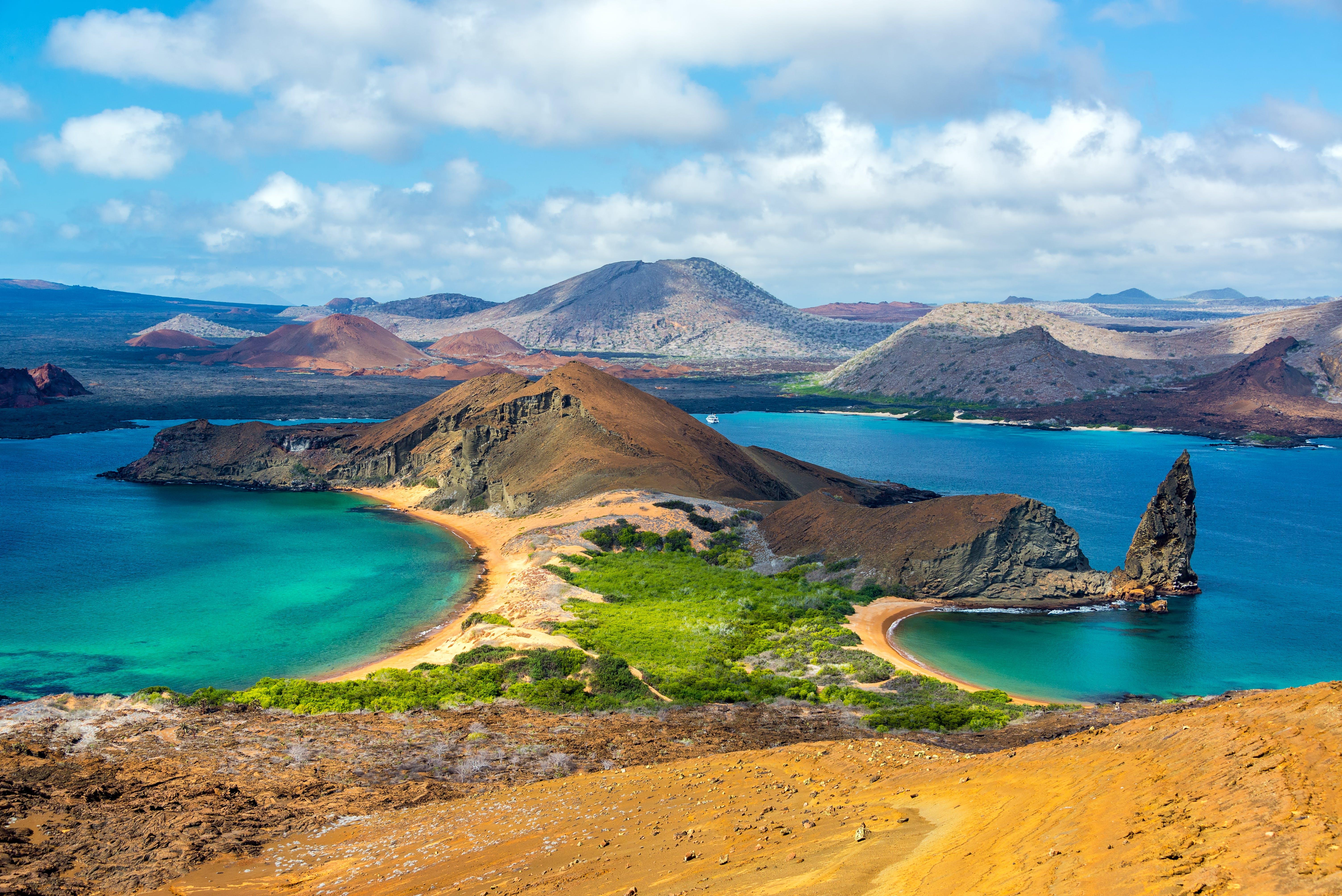 Galapagos Islands aerial