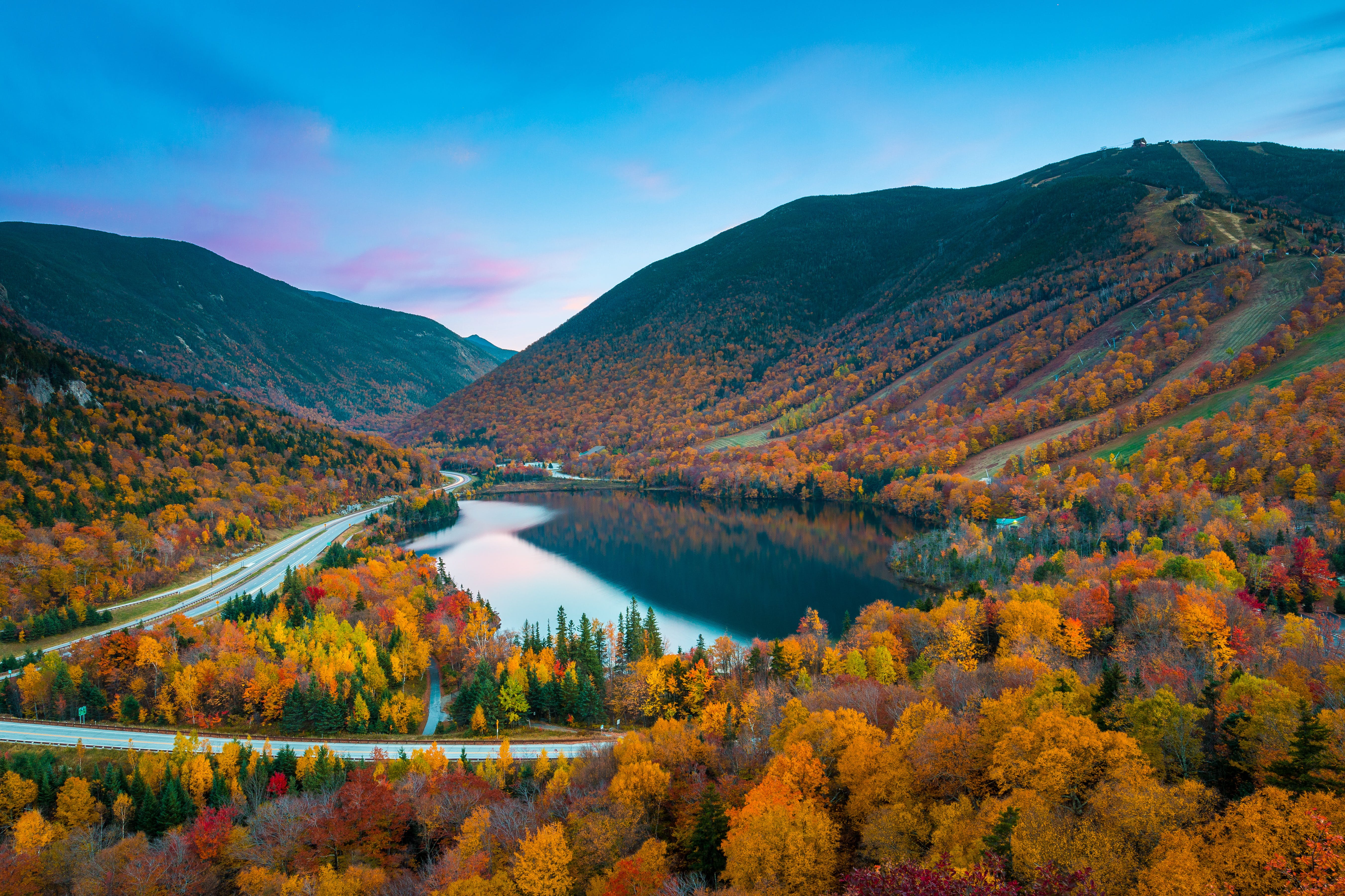 Fall in the Northeast is a colorful site to behold.