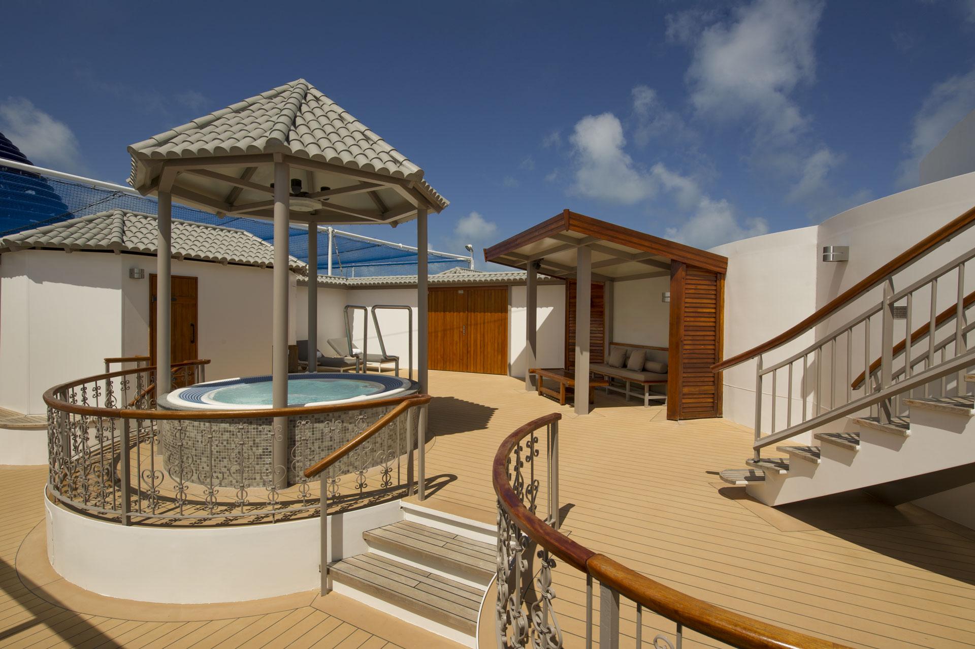 Garden Villa balcony area