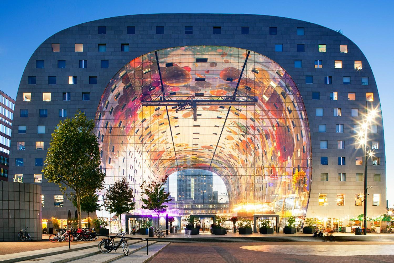 Rotterdams Markthal market