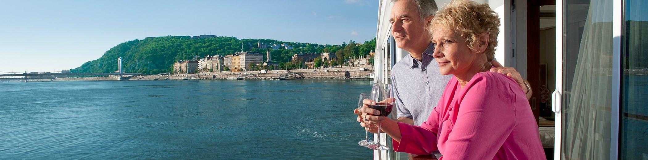 Seniors enjoying a Viking Cruise