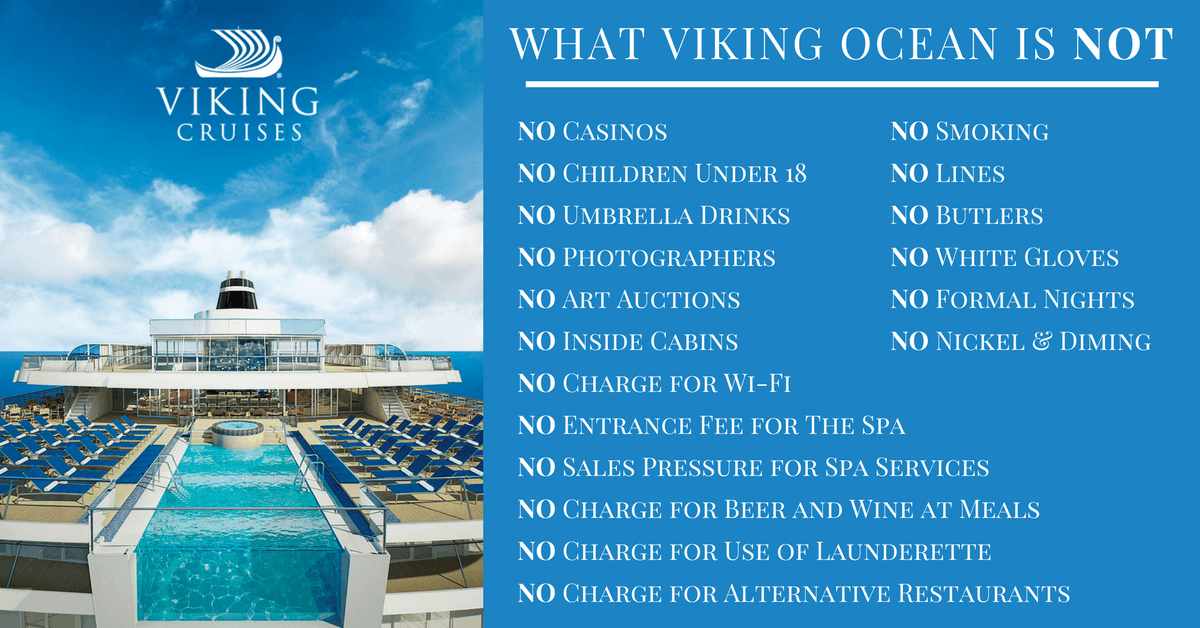 A list of all the things that Viking is not.